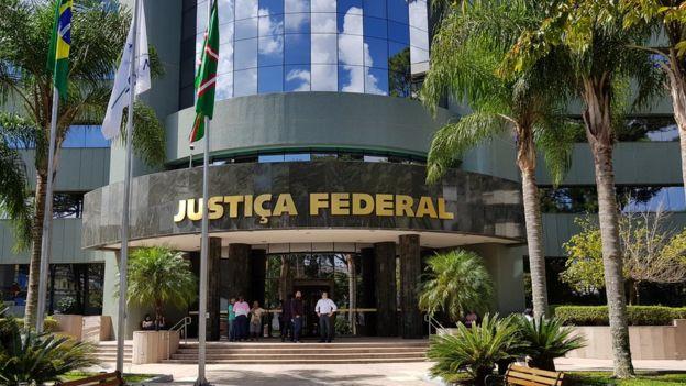 Sede da Justiça Federal no Paraná