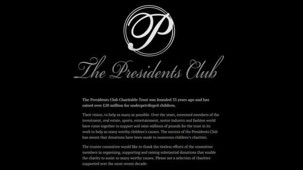 The Presidents Club.
