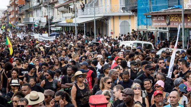 Resultado de imagen para guayana francesa disturbios