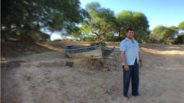 Feliciano López, río Pilcomayo, Paraguay. Foto: Gabriela Torres.