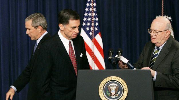George Bush 2005'te