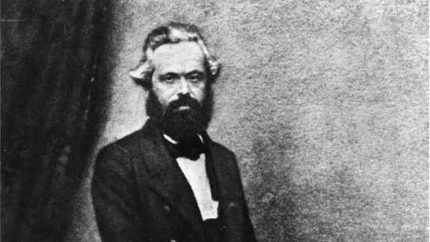 Karl Marx gençliğinde