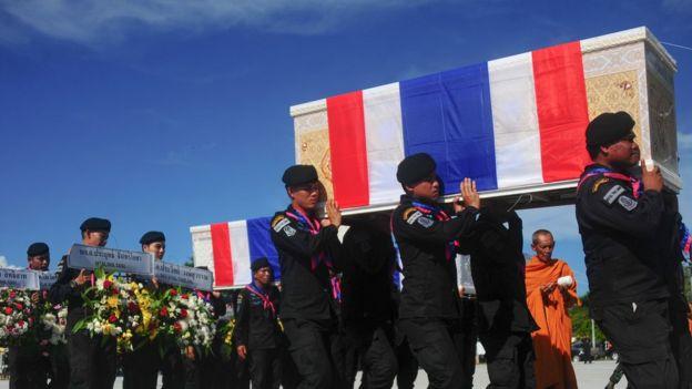 ทหารพรานเสียชีวิตในเหตุระเบิดที่เกิดขึ้นเมื่อวันที่ 27 เมษายน 2017