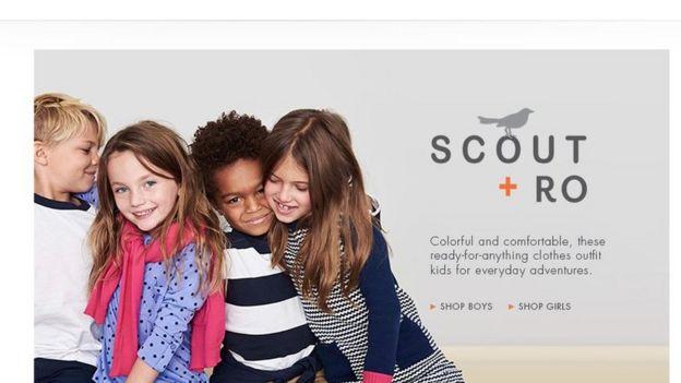 Captura de pantalla de la página web de Amazon