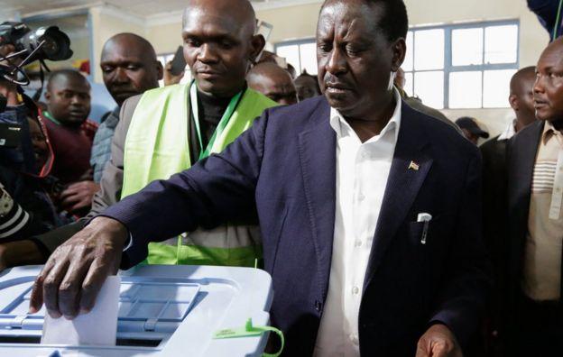 Raila Odinga oy verme