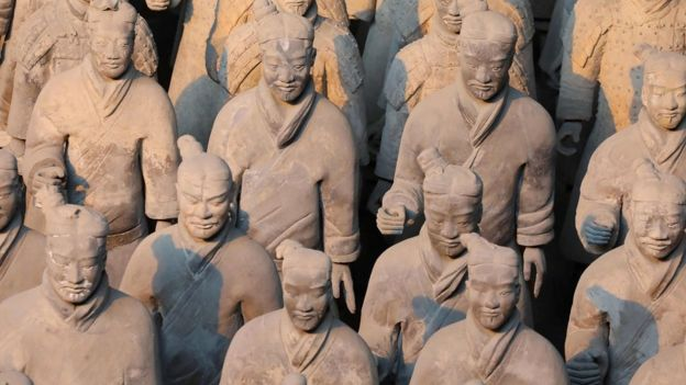 "China""s famous terracotta warriors"