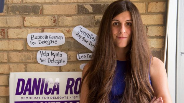 Danica Roem, Democrat winner in for Virginia