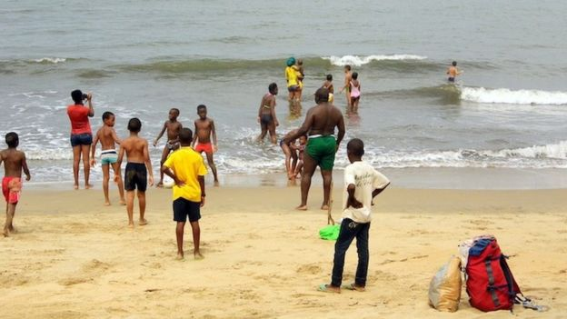 Kribi beach na joint to jolly for Cameroon