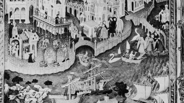 Sách cổ châu Âu về Con đường Tơ lụa nối châu Âu với Phương Đông