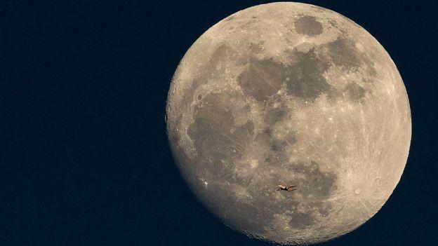 Imagen de una superluna
