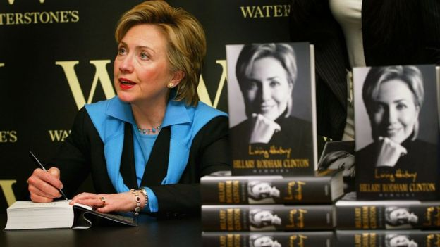 Image result for Hillary Clinton To Release Memoirs On US Election
