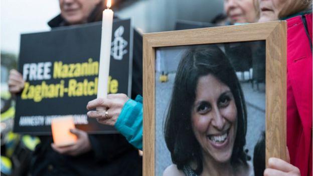 Nazanin Zaghari-Ratcliffe'in serbest kalması için İngiltere'de eylemler düzenleniyor