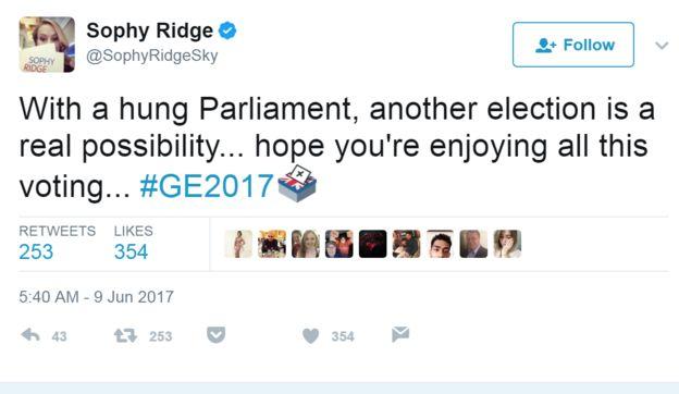 @SophyRidgeSky'den Tweet: Asma Parlamentosu ile bir başka seçim daha gerçek bir olasılıktır ... umarım bu oylamadan keyif alırsınız ... # GE2017