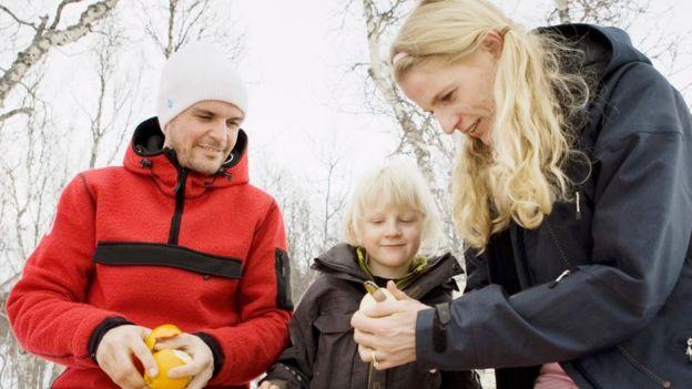 Familia norueguesa