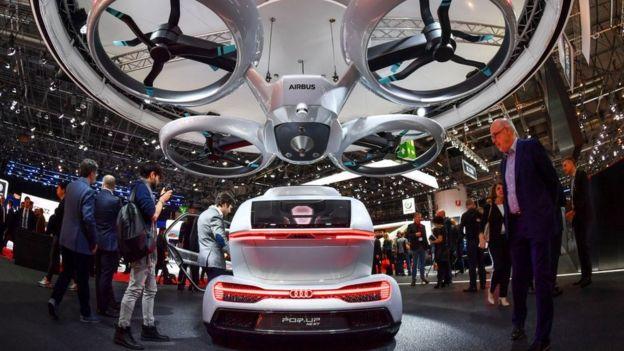 auto dron