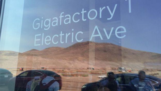 La fábrica de Tesla
