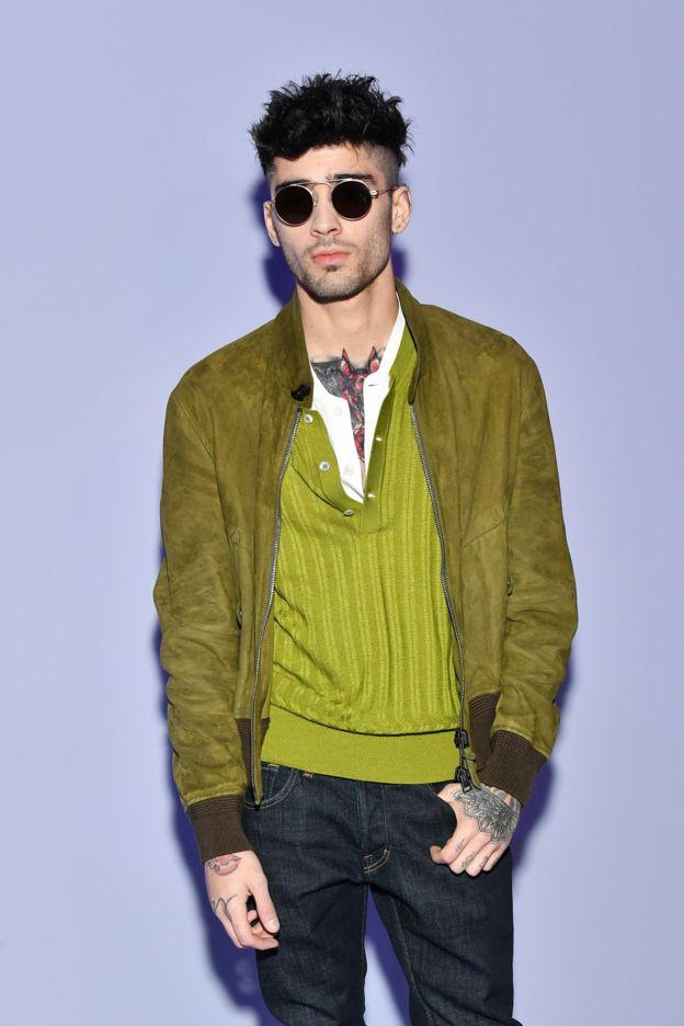 Zayn Malik at New York Fashion Week