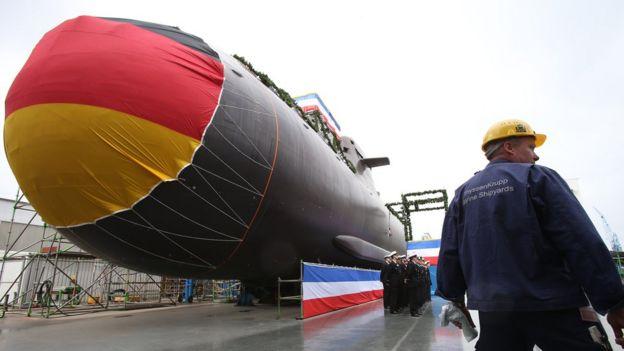 submarino alemão