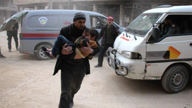 Syria, tấn công hóa học