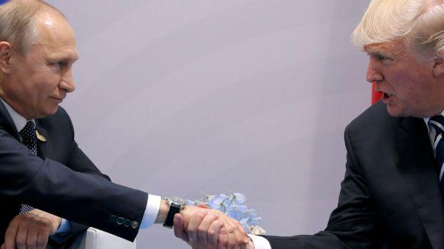 Putin ve Trump geçen ay G-20 zirvesinde görüşmüştü.