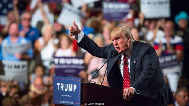 Những nhà lãnh đạo mới của thế giới như Donald Trump đã được lợi từ sự tăng tiến toàn cầu của tình cảm dân túy và quốc gia.