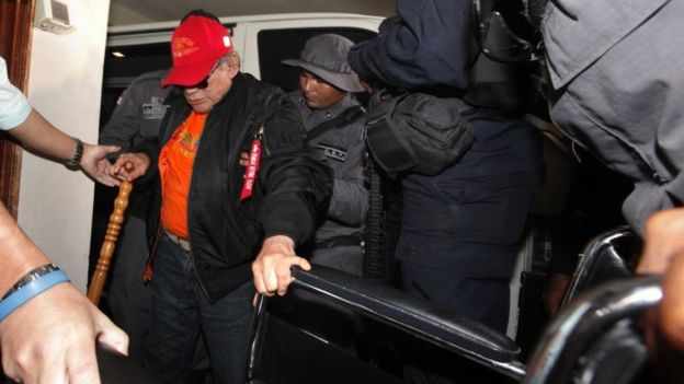 Noriega was released into house arrest in January to prepare for his operation