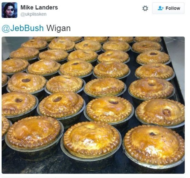 Pies for Wigan