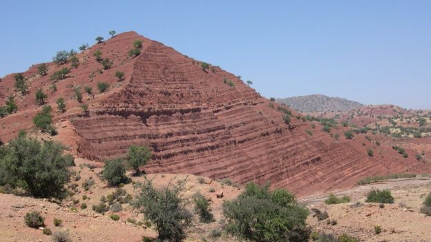 Sediments in Morocco