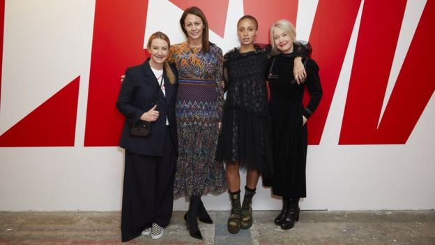 Anya Hindmarsh, Caroline Rush, Adwoa Adwoa and Justine Simons