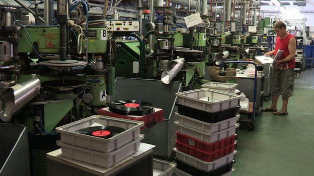 The factory floor at GZ