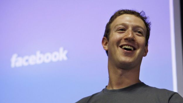 Mark Zuckerberg, o fundador do Facebook