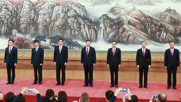 Miembros del Politburó