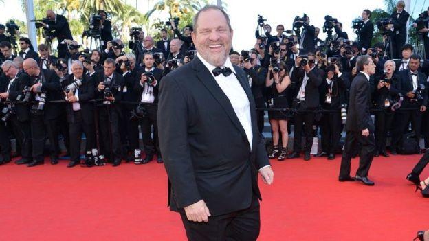 Harvey Weinstein en la alfombra roja en 2012.