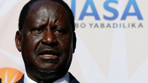 Odinga anadai mitambo ya tume ya uchaguzi ilidukuliwa kumfaa Kenyatta