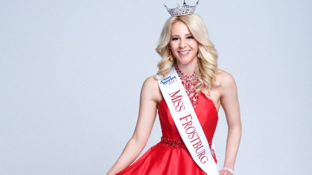Victoria Graham in her latest pageant