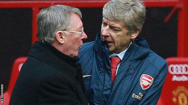 Sir Alex Ferguson na Arsene Wenger