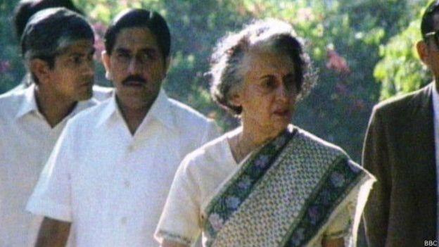 இந்திரா காந்தி.