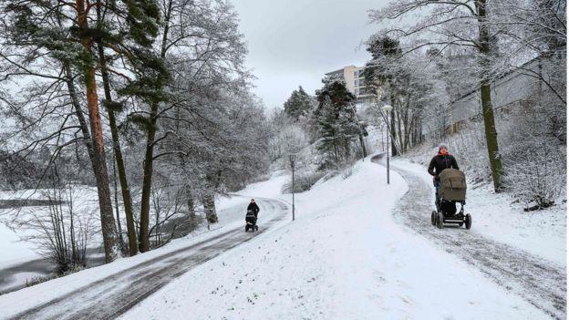 Estocolmo no inverno