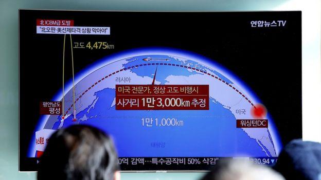 Televisão norte-coreana