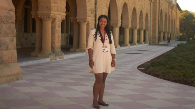 Georgia Gabriela em Stanford, nos EUA
