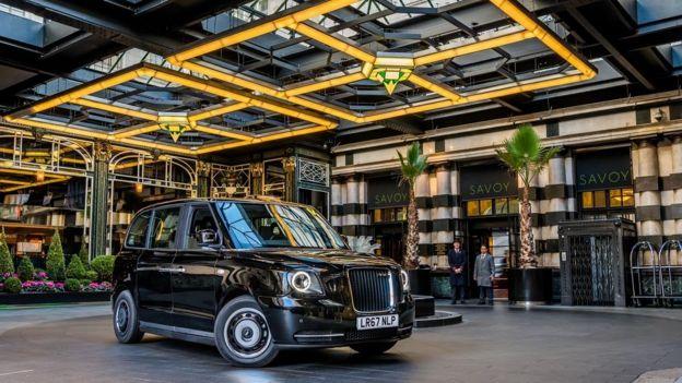 تاکسی الکتریکی لندن