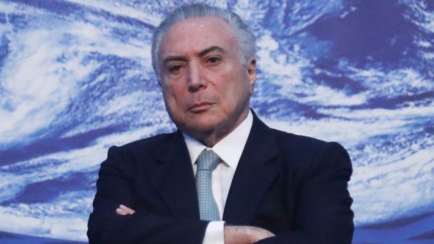 Presidente brasileño Michel Temer