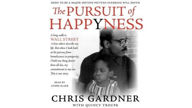 Capa do primeiro livro de Chris Gardner