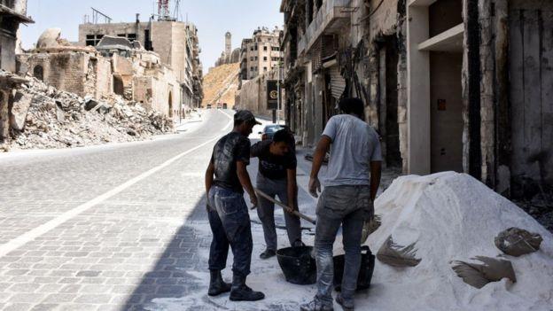 Reconstrucción de Alepo