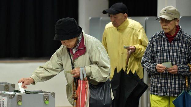 Pemilih di Jepang