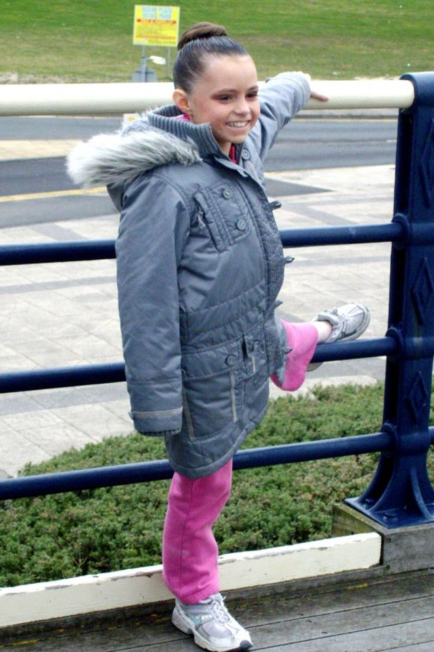 Errin Godwin Whalley a los 11 años (Foto: Errin Godwin Whalley)