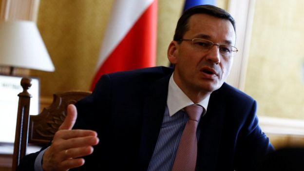 Polonya Başbakan Yardımcısı Mateusz Morawiecki