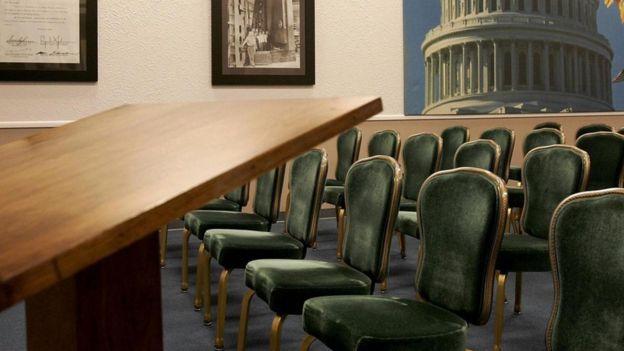 ملجأ كبار مسؤولي الحكومة الأمريكية
