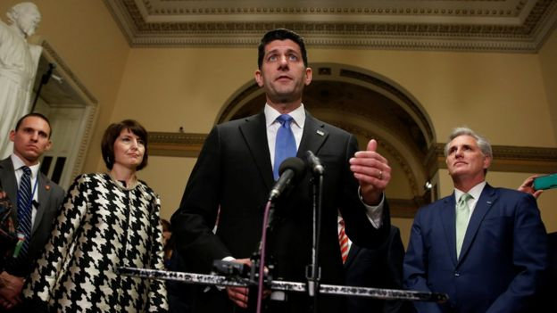 Палата уполномоченных американского Конгресса приняла налоговую реформу