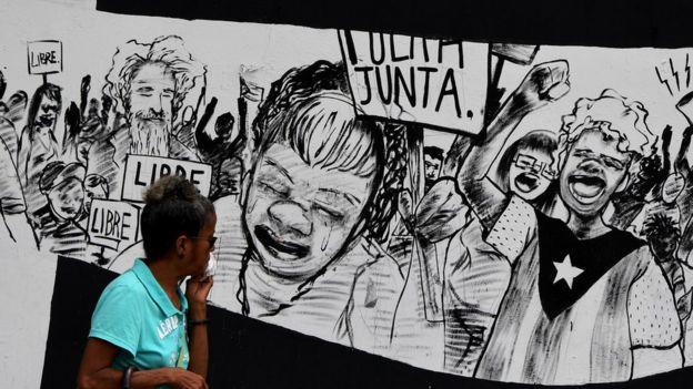 Afiche de protesta